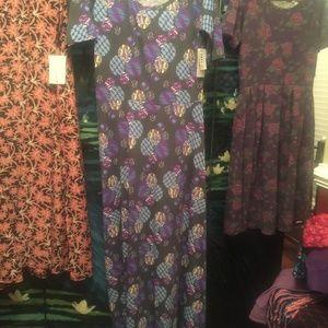 NWT Lularoe Ana Dress L